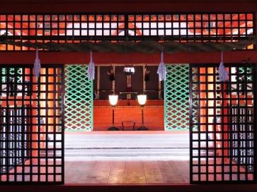 The Itsukushima Shrine