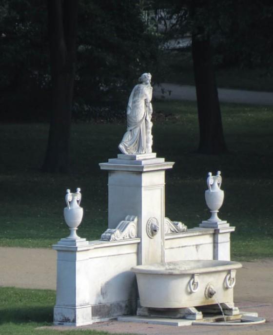 Sanssouci park detail_