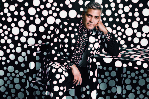 George Clooney in W Magazine