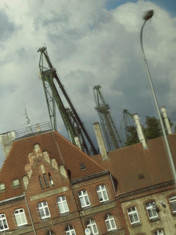 shipbuilding area