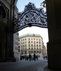 hofburg gate