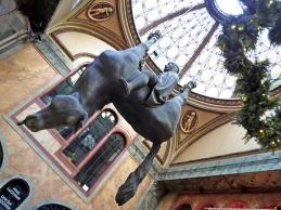 Cerný's statue Horse.