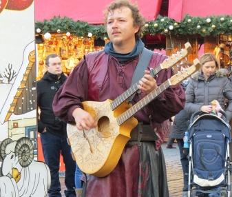 christmas market entertaiment