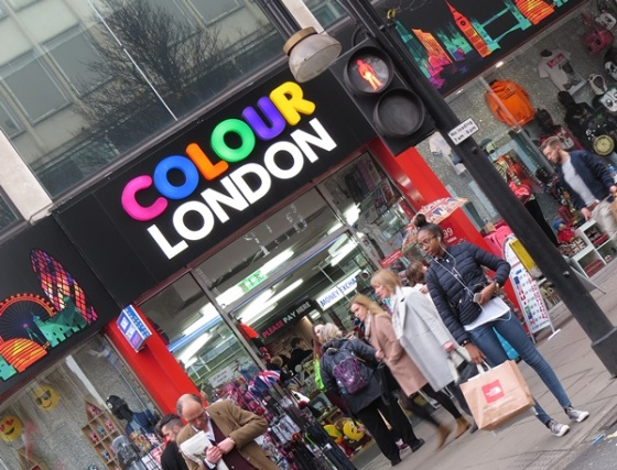 colorful london