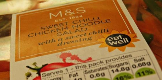 M&S salad