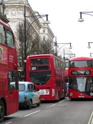 oxford street traffic