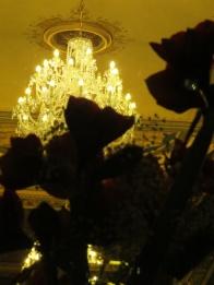 cafe savoy's chandelier