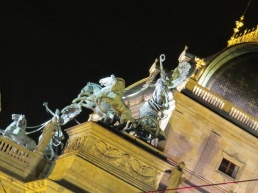 national theater sculpture