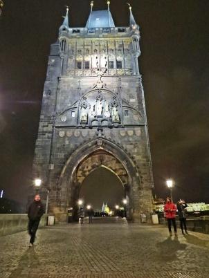 old bridge tower