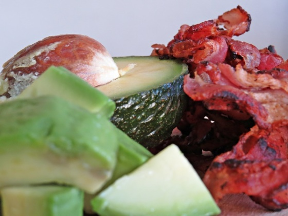 avocado & bacon