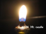 dinner candle Sl39 - featured