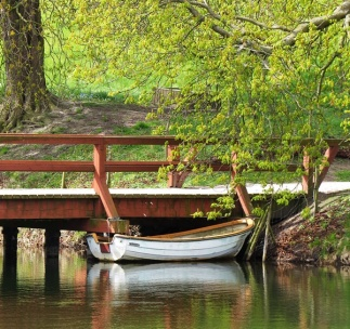 rowboat for the moat