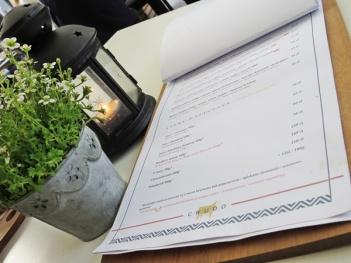 crudo - menu