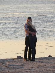 evening hug