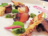 rucola - salmon starter