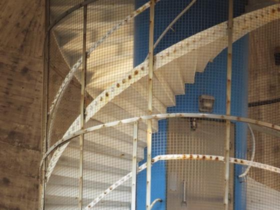 stair at Landskrona water tower