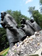 Monument to the ghetto children
