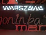 neon warsaw
