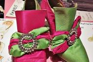 pink & green
