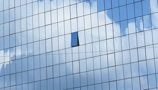 cloud with a window