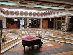 Library entrance hall