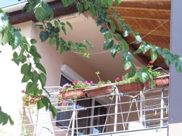village balcony