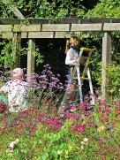 busy gardeners
