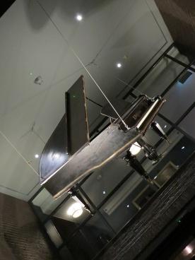 hanging grand piano