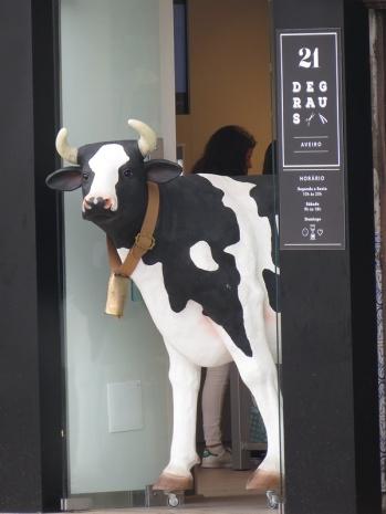 aveiro - cow on wheels