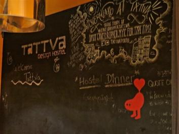 hostel message board