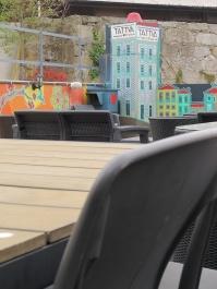 hostel roof terrace