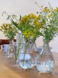 restaurant wild flowers