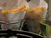 frites and wine
