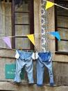 blue jeans in sunshine - vykort