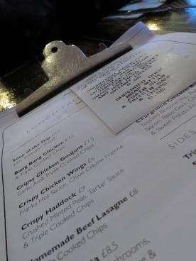 FV menu