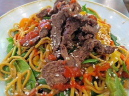 hot and sour beef salad
