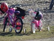 pink bikes
