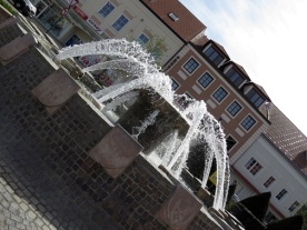 town sqaure fountain