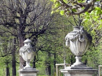 urns in the green