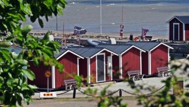 fishermen huts