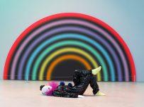 clown & rainbow