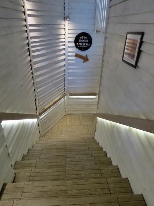 stairway white