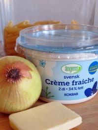 creme fraich & onion