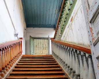tbilisi stairs - crop