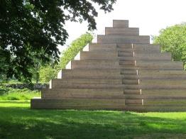 wooden pyramid